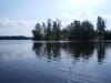 Borgön från sjön